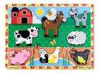Farm Chunky Cardboard Puzzle Cover Image