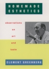 Homemade Esthetics: Observations on Art and Taste Cover Image
