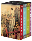 Divergent Anniversary 4-Book Box Set: Divergent, Insurgent, Allegiant, Four (Divergent Series) Cover Image