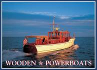Wooden Power Boats Note Cards by Benjamin Mendlowitz Cover Image