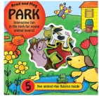 Read and Play Park: Playground Fun for Young Animal Lovers, with Five Animal Figures Inside Cover Image