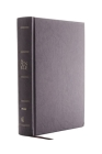 The Niv, Open Bible, Hardcover, Gray, Red Letter Edition, Comfort Print: Complete Reference System Cover Image