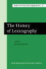 The History of Lexicography: Papers from the Dictionary Research Centre Seminar at Exeter, March 1986 Cover Image