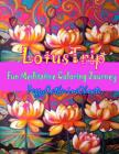 Lotus Trip: Adult coloring book Cover Image