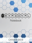 Hexagonal Notebook - Large One: Hexagonal Graph Paper Composition Notebook Organic Chemistry and Biochemistry Note Book, 1/2