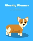 Weekly Planner: Corgi; 18 months; July 1, 2019 - December 31, 2020; 8