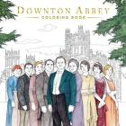 Downton Abbey Coloring Book Cover Image