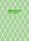 Checkbook Balance Logbook: Checking Account Payment Debit Card Tracking Book 6 Column Green Geometric Cover Image