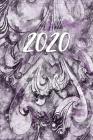 2020: Wochenplaner 2020 für mehr Achtsamkeit, unauffälliges Dankbarkeitstagebuch, Achtsamkeitskalender, etwa DIN A5 (15,3 x Cover Image