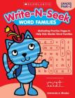 Word Families: Motivating Practice Pages to Help Kids Master Word Families (Write-N-Seek:) Cover Image