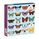 Butterflies of North America 500 Piece Family Puzzle Cover Image