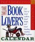 The Book Lover's Page-A-Day Calendar 2007 Cover Image