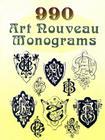990 Art Nouveau Monograms (Dover Pictorial Archives) Cover Image
