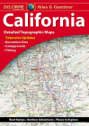 Delorme Atlas & Gazetteer: California Cover Image
