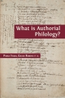 What is Authorial Philology? Cover Image