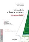 Manuel de l'étude de prix - Entreprises du BTP Cover Image