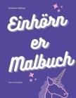 Einhörner Malbuch Cover Image