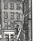 Greenwich village Writing Drawing Journal Cover Image