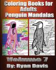 Coloring Books for Adults - Penguin Mandalas Cover Image