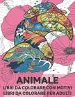 Libri da colorare con motivi - Libri da colorare per adulti - Animale Cover Image