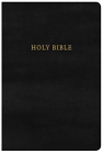 NKJV Large Print Personal Size Reference Bible, Classic Black LeatherTouch Cover Image