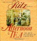 London Ritz Book of Afternoon Tea Cover Image