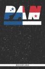 Pan: Panama Wochenplaner mit 106 Seiten in weiß. Organizer auch als Terminkalender, Kalender oder Planer panamaischen Flagg Cover Image