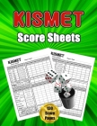 Kismet Score Sheets: 130 Large Score Pads for Scorekeeping - Kismet Score Cards - Kismet Score Pads with Size 8.5 x 11 inches Cover Image
