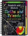 Scratch & Sketch Sloths & Frie Cover Image