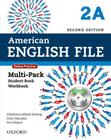 American English File Second Edition: Level 2 Multi-Pack a: With Online Practice and Ichecker Cover Image