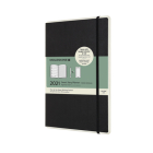Moleskine 2021 Smart Professional Weekly Planner, 12M, Large, Black (5 x 8.25) Cover Image