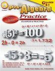 Pre-Algebra Practice Book, Grades 6 - 12 Cover Image