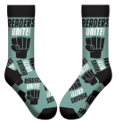 Readers Unite Socks Cover Image