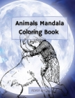 Animals Mandala Coloring Book Cover Image