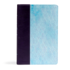 NKJV Daily Devotional Bible for Women, Purple/Blue LeatherTouch Cover Image