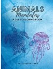 Animals Mandala: Coloring Book for Adult Cover Image