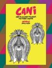 Libri da colorare per adulti per penne e matite - Livello facile - Animali - Cani Cover Image