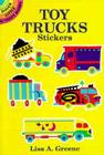 Toy Trucks Stickers Cover Image