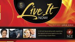 Live It Now! Dramatized Bible-NLT Cover Image
