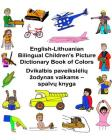 English-Lithuanian Bilingual Children's Picture Dictionary Book of Colors Cover Image