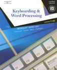Keyboarding & Word Processing: Lessons 1-60 [With CDROM] Cover Image