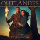 2021 Outlander 16-Month Wall Calendar Cover Image