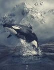 Notebook: killer whale orca animal whales ocean endangered species Cover Image