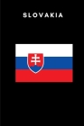 Slovakia: Country Flag A5 Notebook to write in with 120 pages Cover Image