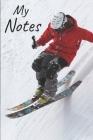 My notes: Ski Notebook - Size 6