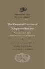 The Rhetorical Exercises of Nikephoros Basilakes: Progymnasmata from Twelfth-Century Byzantium (Dumbarton Oaks Medieval Library #43) Cover Image
