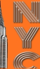 Iconic New York City Chrysler Building $ir Michael designer creative drawing journal Cover Image