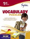 First Grade Vocabulary Puzzles (Sylvan Workbooks) Cover Image