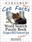Circle It, Cat Facts, Book 1, Word Search, Puzzle Book Cover Image