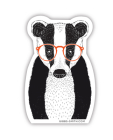 Bk Badger (Sticker) Cover Image